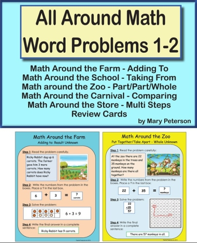 Build Understanding of How to Solve Addition and Subtraction Word ...