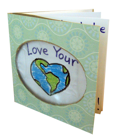 earth day tissue book