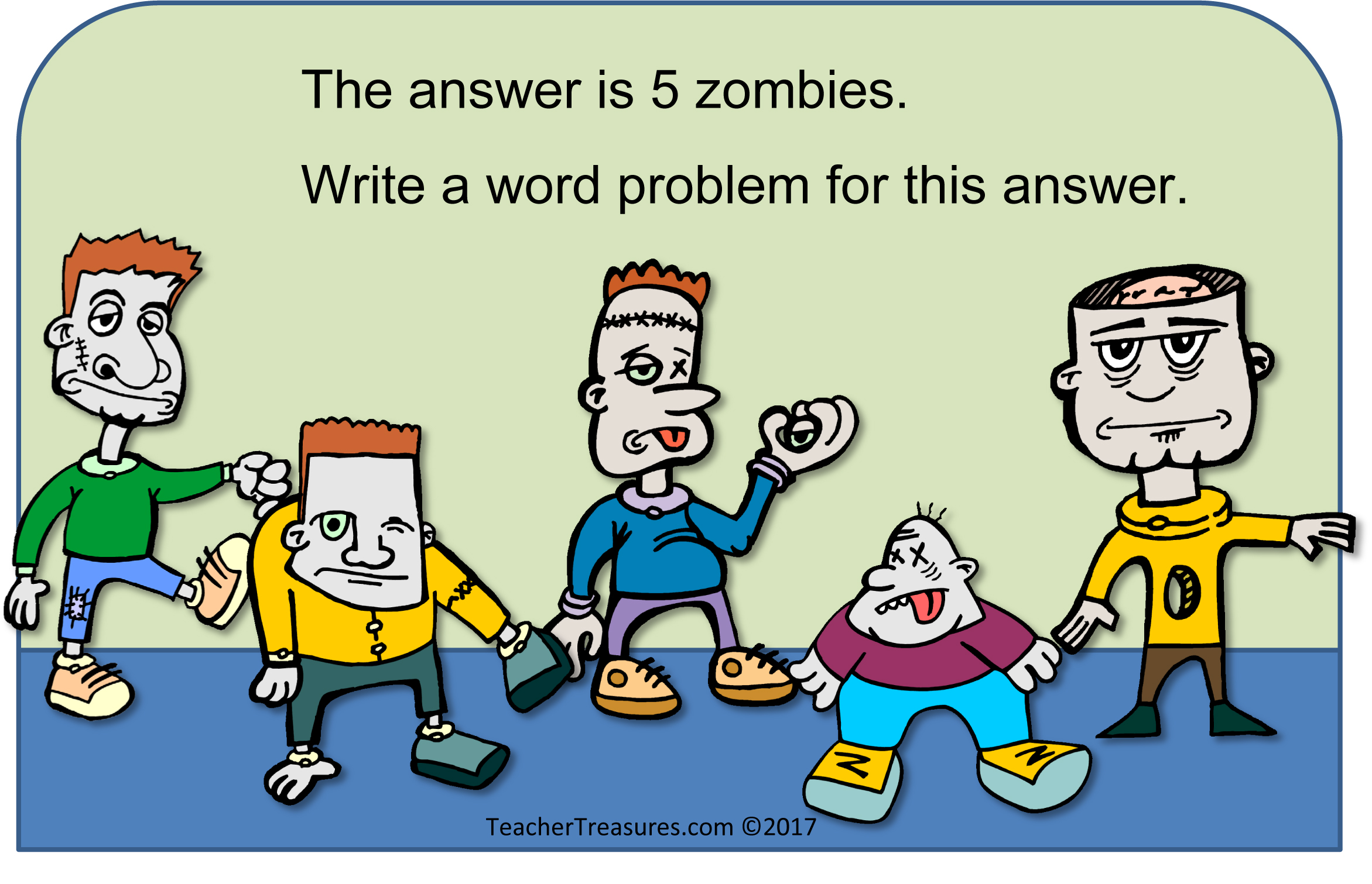 math task zombies